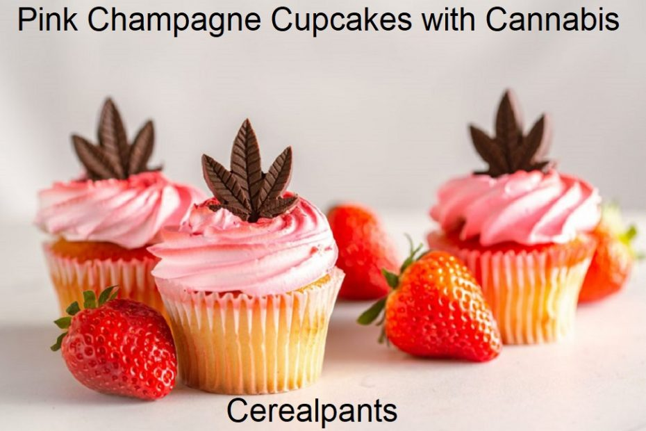 How to Make Pink Champagne Cupcakes with Cannabis