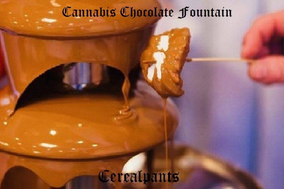 How to Make a Cannabis Chocolate Fountain